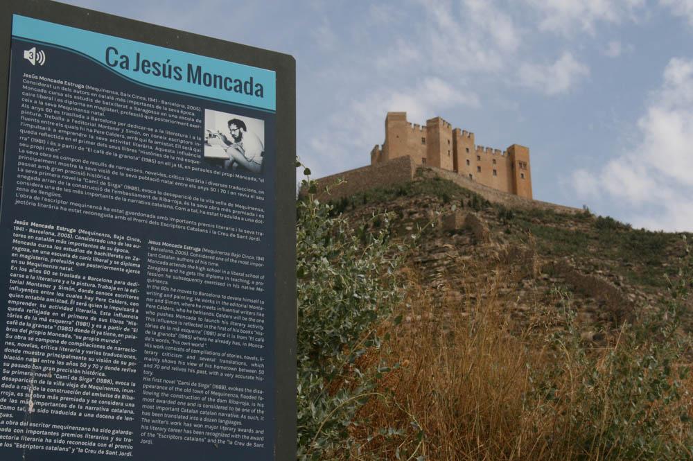 Mequinensa recuerda a Jesús Moncada el día que se cumplen 10 años de su muerte