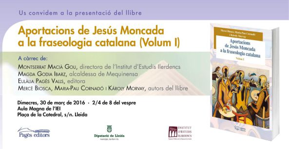 Aportacions Jesús moncada Fraseologia catalana