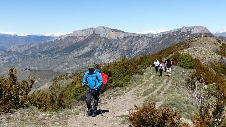 04 Cresta y la Sierra de Sant Gervàs