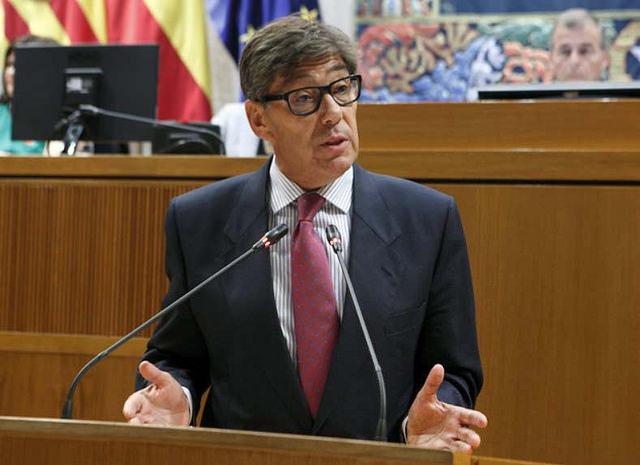 Arturo Aliaga president del Partido Aragonés
