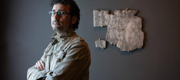 Albert Velasco és conservador del Museu de Lleida Autor: Mikel Aristregi