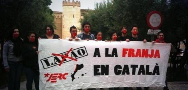 Acte en favor del català a La Franja de Ponent i contra el LAPAO