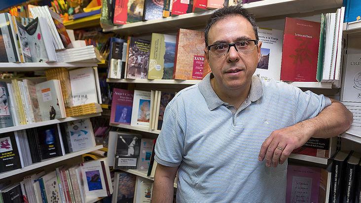 """""""Soc el llibreter més agosarat que conec"""" / JOSÉ CARLOS LEÓN"""