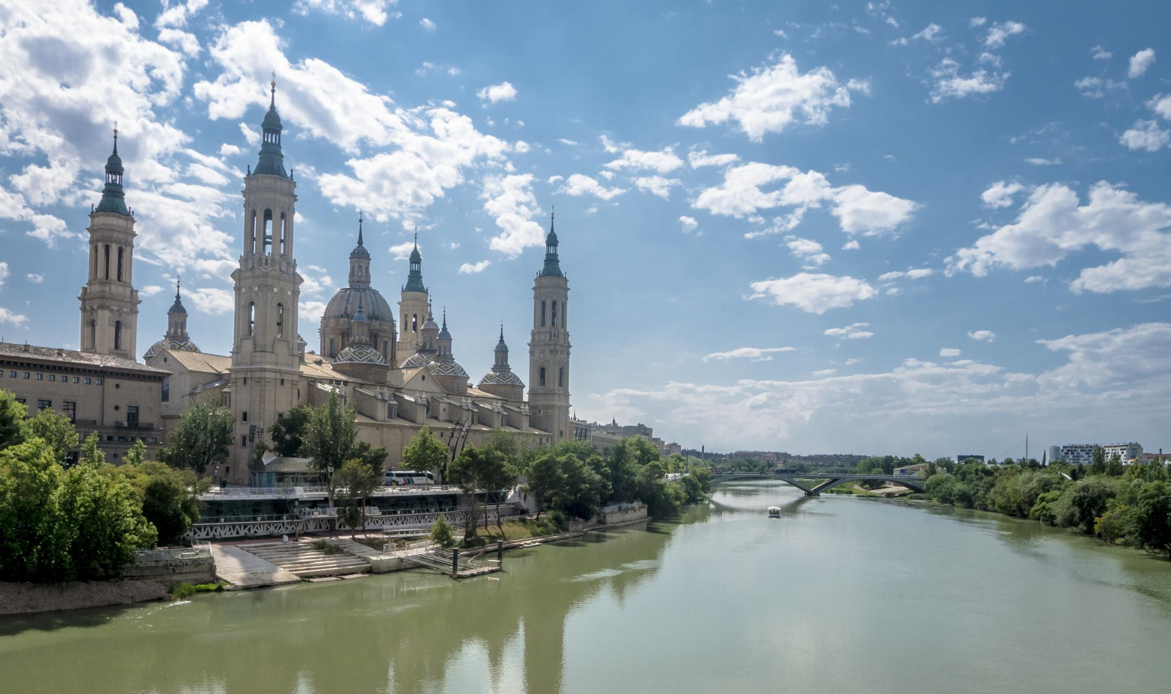 Zaragoza, the capital of Aragon