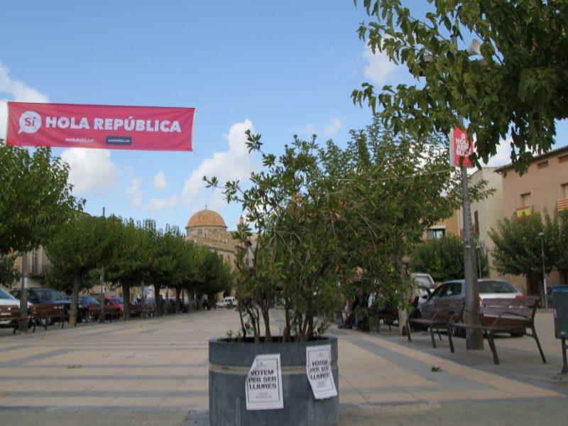 Hablan los alcaldes de los pueblos de Teruel y de Cataluña que viven en la frontera: Apuesta por el diálogo y preocupación ante lo que pueda pasar