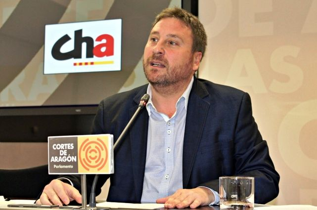 José Luis Soro, presidente de la Chunta Aragonesista.