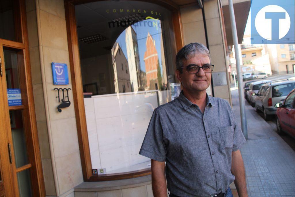 Rafa Martí es presidente de la Comarca del Matarraña