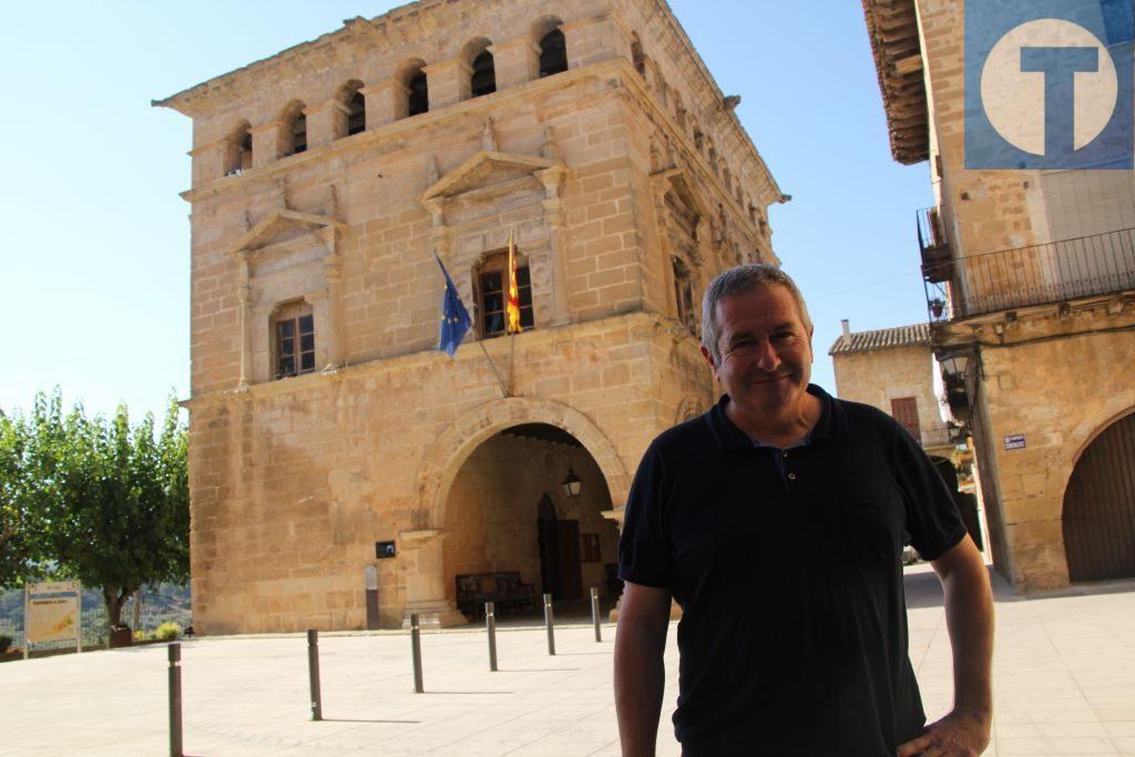 Xavier Pallarés, alcalde de Arnes y delegado de la Generalitat