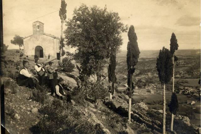 Foto de La Portellada de 1920