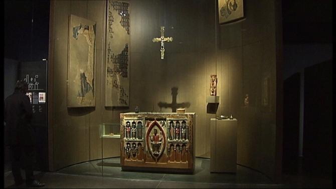 Les obres que reclama el bisbat de Barbastre-Montsó estan dipositades al Museu de Lleida