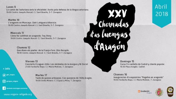 Chornadas Luengas aragón Recapte 2018