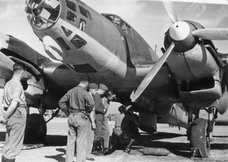 Spanien, Flugzeug der Legion Condor