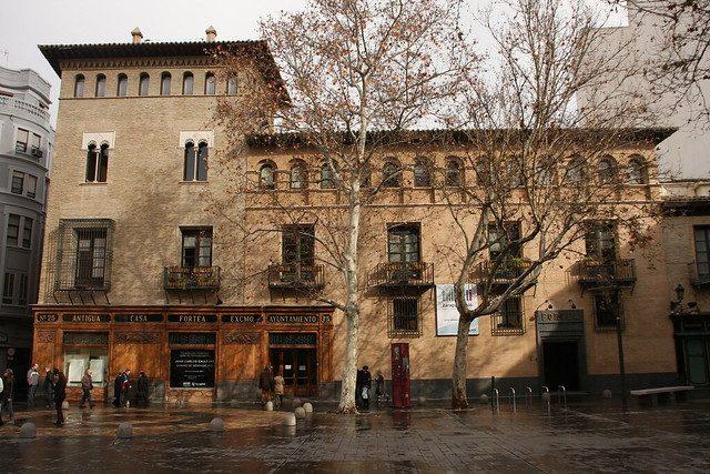 La Oficina de la Lengua Aragonesa, creada en 2017, se ubica en el torreón Fortea.